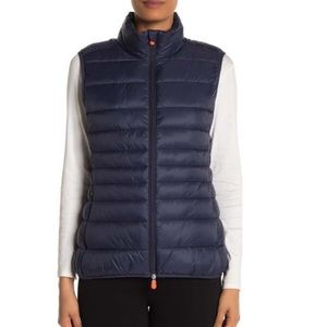 Save The Duck Giga Quilted Puffer Vest Size M